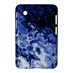 Blue Waves Abstract Art Samsung Galaxy Tab 2 (7 ) P3100 Hardshell Case