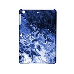 Blue Waves Abstract Art Apple iPad Mini 2 Hardshell Case
