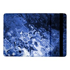 Blue Waves Abstract Art Samsung Galaxy Tab Pro 10 1  Flip Case