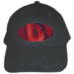 Blood Waterfall Black Baseball Cap