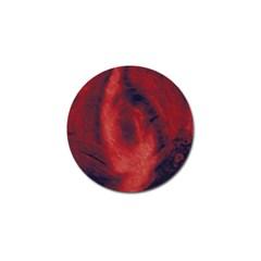 Blood Waterfall Golf Ball Marker 4 Pack