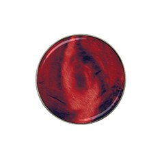 Blood Waterfall Golf Ball Marker (for Hat Clip)