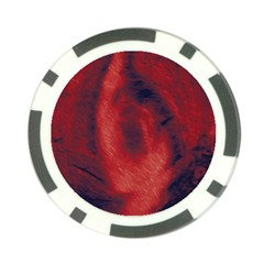 Blood Waterfall Poker Chip (10 Pack)