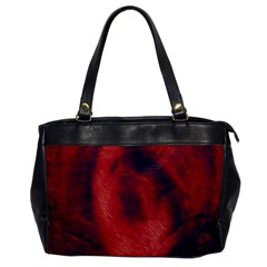 Blood Waterfall Oversize Office Handbag (one Side)