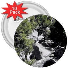 Yosemite National Park 3  Button (10 Pack)