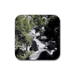 Yosemite National Park Rubber Coaster (square)