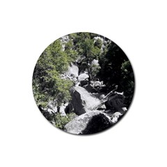 Yosemite National Park Rubber Coaster (round)