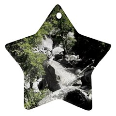 Yosemite National Park Star Ornament (Two Sides)