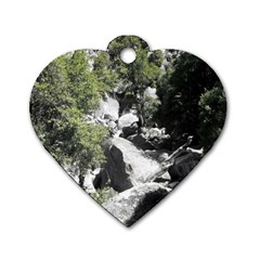 Yosemite National Park Dog Tag Heart (one Side)