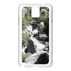 Yosemite National Park Samsung Galaxy Note 3 N9005 Case (White)