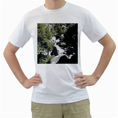 Yosemite National Park Men s T-Shirt (White)