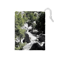 Yosemite National Park Drawstring Pouch (Medium)