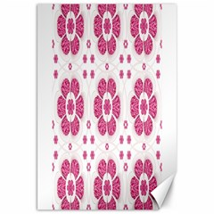 Sweety Pink Floral Pattern Canvas 20  X 30  (unframed)