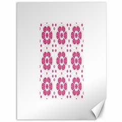 Sweety Pink Floral Pattern Canvas 36  x 48  (Unframed)