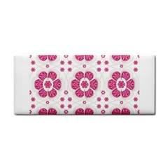 Sweety Pink Floral Pattern Hand Towel