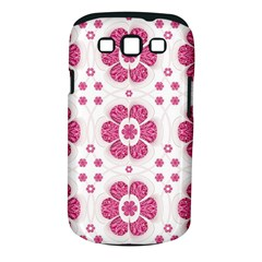 Sweety Pink Floral Pattern Samsung Galaxy S Iii Classic Hardshell Case (pc+silicone)