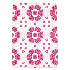 Sweety Pink Floral Pattern Removable Flap Cover (large)