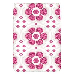 Sweety Pink Floral Pattern Removable Flap Cover (small)