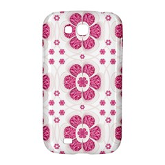 Sweety Pink Floral Pattern Samsung Galaxy Grand GT-I9128 Hardshell Case
