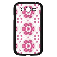 Sweety Pink Floral Pattern Samsung Galaxy Grand Duos I9082 Case (black)