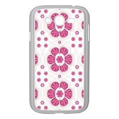 Sweety Pink Floral Pattern Samsung Galaxy Grand DUOS I9082 Case (White)