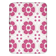 Sweety Pink Floral Pattern Samsung Galaxy Tab 3 (10.1 ) P5200 Hardshell Case