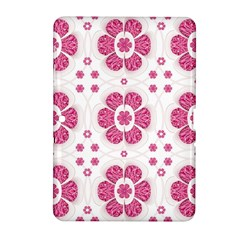Sweety Pink Floral Pattern Samsung Galaxy Tab 2 (10.1 ) P5100 Hardshell Case