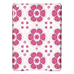 Sweety Pink Floral Pattern Apple iPad Air Hardshell Case