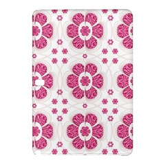 Sweety Pink Floral Pattern Samsung Galaxy Tab Pro 10.1 Hardshell Case