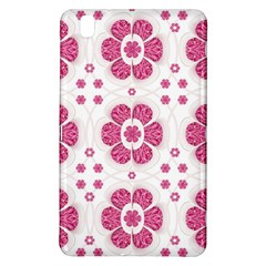 Sweety Pink Floral Pattern Samsung Galaxy Tab Pro 8.4 Hardshell Case