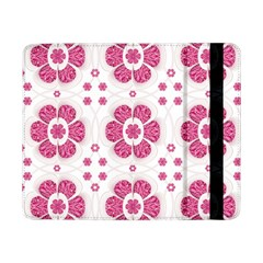 Sweety Pink Floral Pattern Samsung Galaxy Tab Pro 8 4  Flip Case