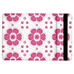 Sweety Pink Floral Pattern Apple iPad Air Flip Case