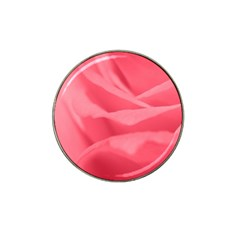 Pink Silk Effect  Golf Ball Marker 4 Pack (for Hat Clip)