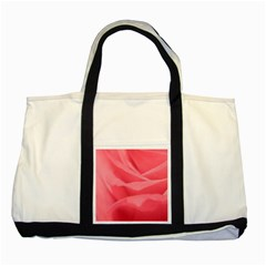 Pink Silk Effect  Two Toned Tote Bag