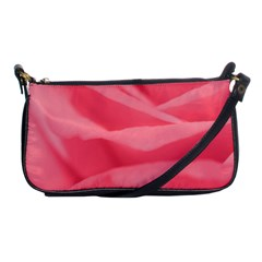 Pink Silk Effect  Evening Bag