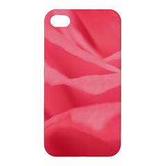 Pink Silk Effect  Apple Iphone 4/4s Hardshell Case