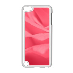 Pink Silk Effect  Apple iPod Touch 5 Case (White)