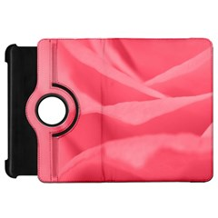 Pink Silk Effect  Kindle Fire Hd 7  (1st Gen) Flip 360 Case