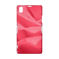 Pink Silk Effect  Sony Xperia Z1 L39H Hardshell Case