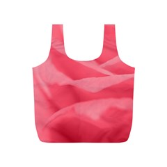 Pink Silk Effect  Reusable Bag (S)