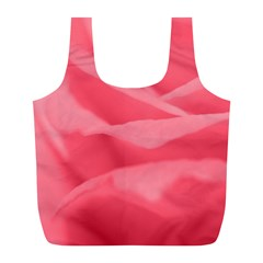 Pink Silk Effect  Reusable Bag (L)