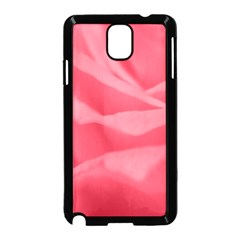 Pink Silk Effect  Samsung Galaxy Note 3 Neo Hardshell Case (Black)