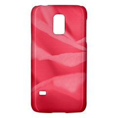 Pink Silk Effect  Samsung Galaxy S5 Mini Hardshell Case