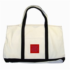 A Bff s promise Two Toned Tote Bag