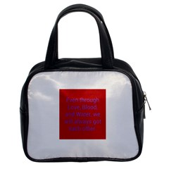 A Bff s Promise Classic Handbag (two Sides)