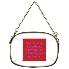 A Bff s Promise Chain Purse (one Side)