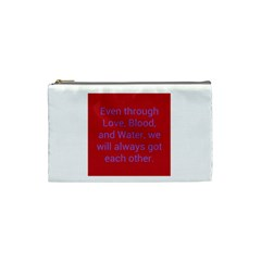 A Bff s Promise Cosmetic Bag (small)