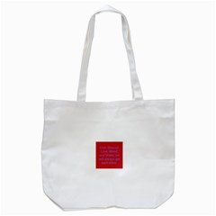 A Bff s promise Tote Bag (White)