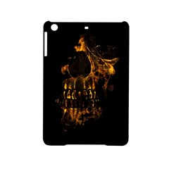Skull Burning Digital Collage Illustration Apple iPad Mini 2 Hardshell Case