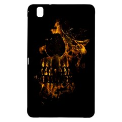 Skull Burning Digital Collage Illustration Samsung Galaxy Tab Pro 8.4 Hardshell Case